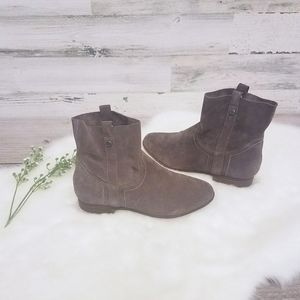 Frye & Co Sarah Shorty Suede Booties